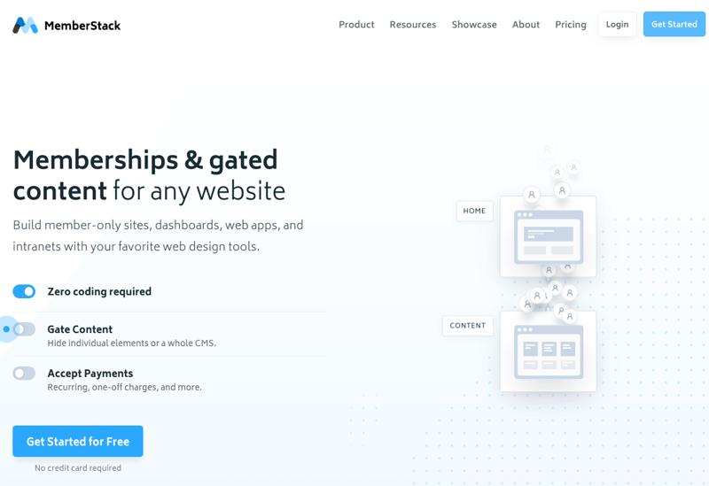 memberstack screenshot