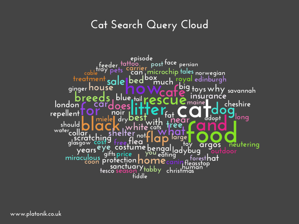 image of Cat Search Query Cloud