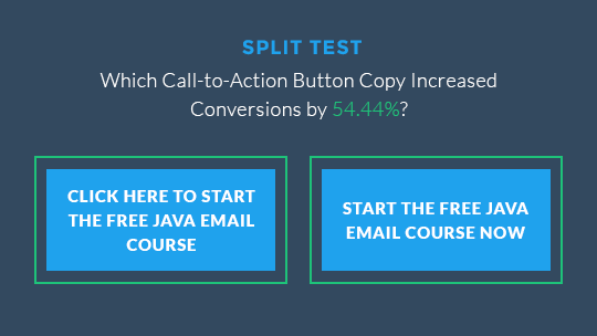 CTA Button Wording - Click Here or Start