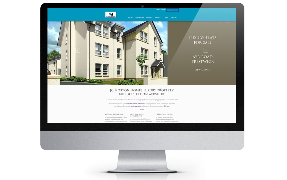 property website design image and example